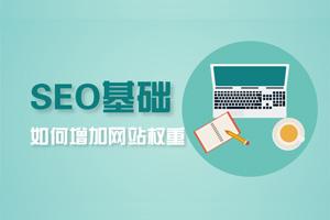 SEO基础-如何增加网站权重