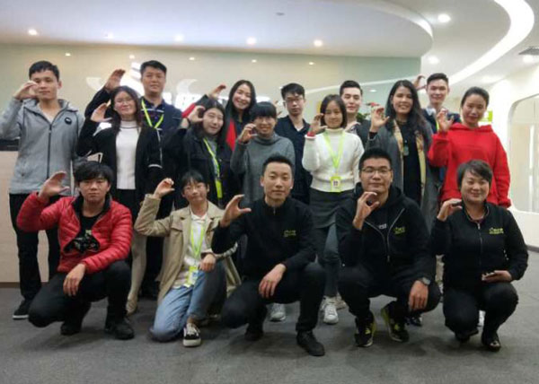 嘉华金蛛广州校区电子商务营销26班学员合照